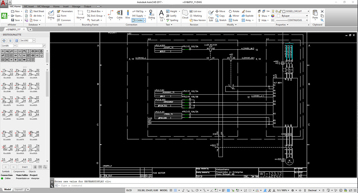 elMaster, CAD/CAE software for electrical design support IEC